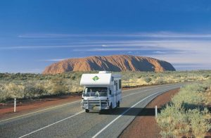 Lasseter Highway Near Uluru.