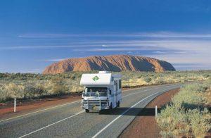 Lasseter Highway Near Uluru.
