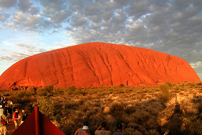 Uluru – Ayers Rock – The Northern Territory.