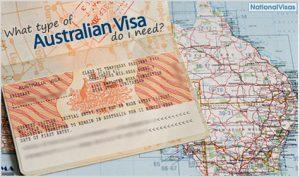 Australian visa types.