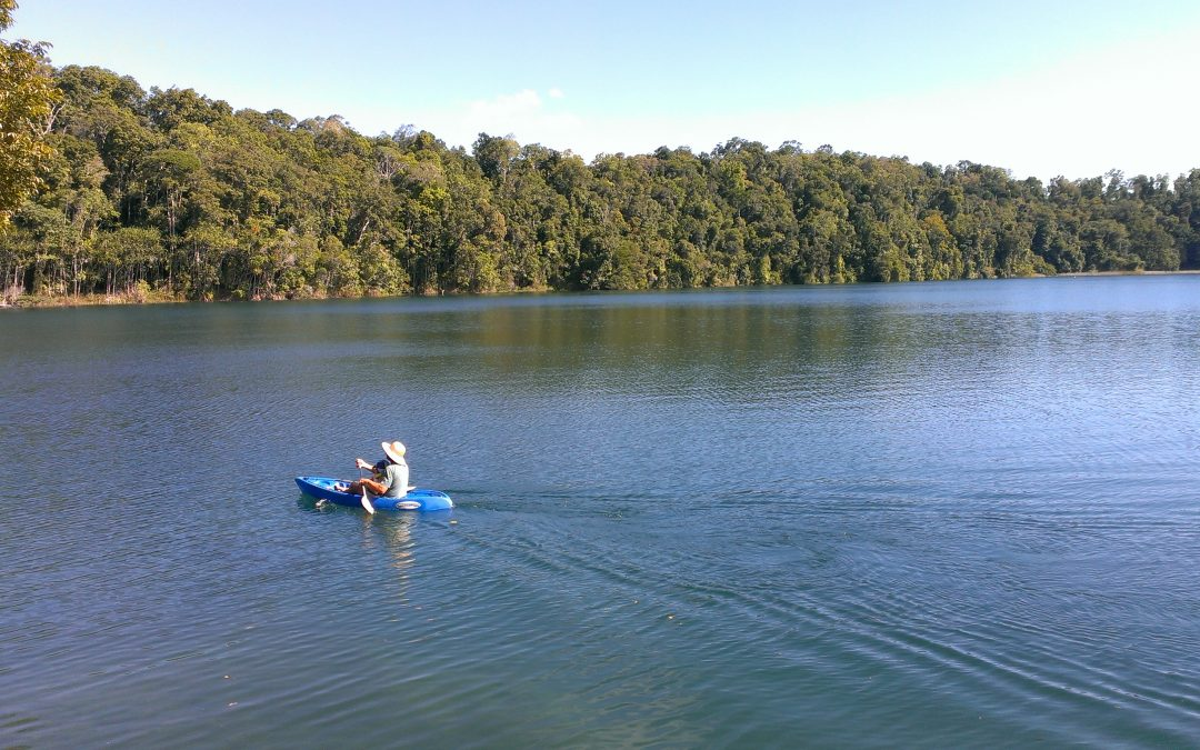 Lake Eacham .. Atherton Tableland, North Queensland.