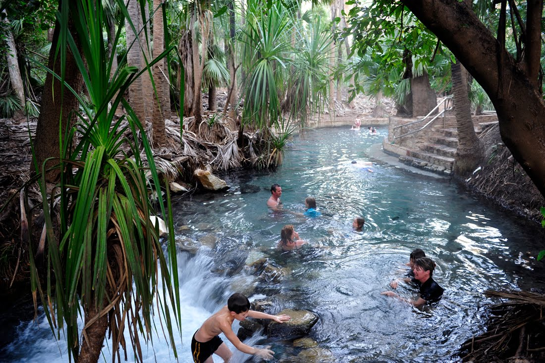 Mataranka Thermal Pool, Elsey National Park, Northern Territory