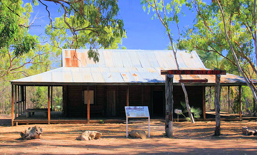 Elsey Homestead Replica, Mataranka, Elsey National Park, Northern Territory