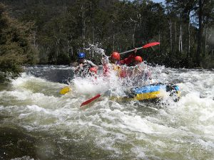 Tasmanian Wilderness Rafting