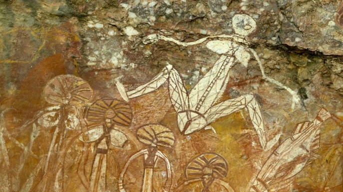 Kakadu National Park - Nourlangi Rock Art